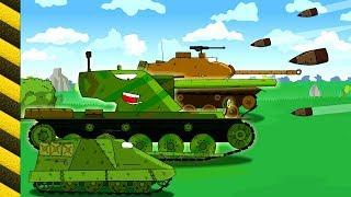 World of tanks animation. Monster Trucks for children. Танкомульт атака. Tank animation.