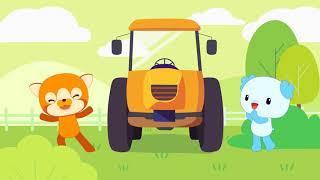 Детские песенки - Bingo - Учим буквы - Развивающие мультики для детей и малышей