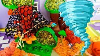 Герои в масках мультик для детей с игрушками - Что с Аллет? Развивающие мультфильмы для детей