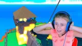 ПРИРОДНЫЕ КАТАСТРОФЫ Roblox ОБНОВЛЕНИЕ Видео для детей детская игра в Роблокс