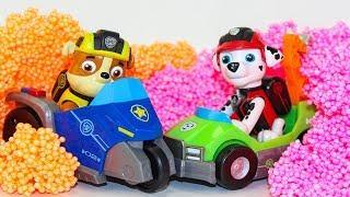 Щенячий патруль Мультик про игрушки сюрпризы Paw Patrol Развивающие мультики про машинки для детей