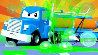 Грузовик пылесос - Трансформер Карл в Автомобильный Город