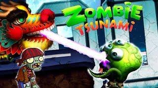Zombie Tsunami #11 Игровой мультик для детей про зомби, веселый детский мультик игра для малышей