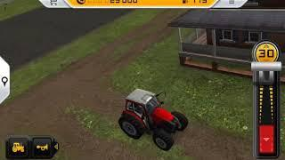 Красный трактор.Игры для детей.