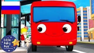 детские песенки | Автобусы | мультфильмы для детей | Литл Бэйби Бум