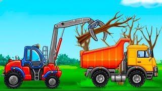 Мультики про машинки - Строительство! Много машинок в новом видео для детей