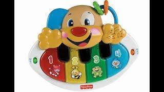 """Видео обзоры игрушек - Пианино-Щенок """"Смейся и учись"""". Fisher-Price"""