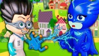 Мультики с игрушками для детей – Спасение Котенка! Игрушки Герои в масках мультфильмы для мальчиков