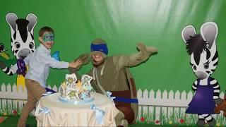Аниматор Черепашки Ниндзя Детский клуб Веселая зебра Саратов Тематический День Рождения