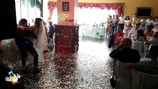 Метафановый салют на свадьбе