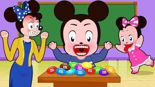 Микки и Минни Маус ★ Детские песни ★ Развивающие мультфильмы для детей # 2