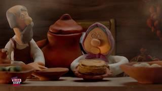 Глинька | Русская сказка | детские мультфильмы | Glin'ka - The Clayboy | Гора самоцветов