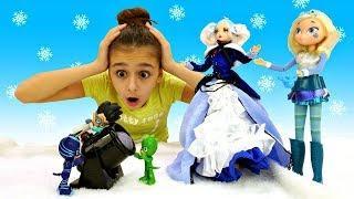 Мультики для детей - Ромео стал Снегурочкой! Герои в масках