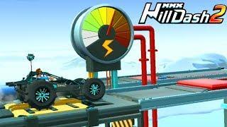 Это КАПЕЦ в игре MMX HILL DASH 2 Необычные машины монстры Видео для детей игра про машинки
