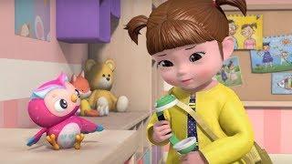Развивающие мультики для детей - Консуни –Больной Животик –  Серия 4