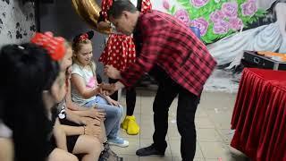 Минни Маус и Микки Маус. Детский праздник. аниматоры. фокусы.