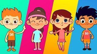 Детские песенки - Сборник Новых Серии - Мультфильмы для Детей #44