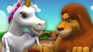 Лев и Единорог | The Lion and The Unicorn | Little Treehouse Russia | русский мультфильмы для детей