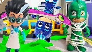 Детские мультики для детей с игрушками! Мультфильм 2018 с игрушками Фиксики и Герои в масках
