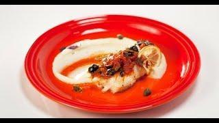 Филе трески под маринадом с пюре | Дежурный по кухне