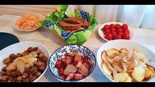 Деревенский вкусный обед