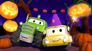 Поезд Трой -  Спецвыпуск к Хэллоуину - Трактор Бен - Автомобильный Город