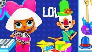 Играем в LOL и в ТОРГОВЫЙ ЦЕНТР. Мультяшная игра для детей детское видео и мультик