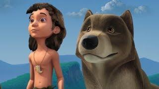Маугли - Книга Джунглей - Вой волка –развивающий мультфильм для детей HD