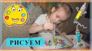 Творчество с детьми // Необычное рисование с детьми // Nikandvika