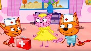 Три Кота Игры СБОРНИК мультик для детей про животных #ГАМИКС