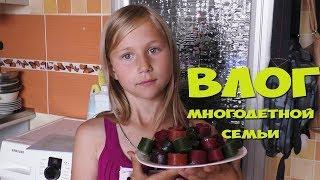 Обычные Будни/Опять на Кухне/ГОТОВЛЮ Тушеную КАПУСТУ/Пробуем ПАСТИЛУ с детьми
