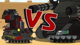 битва с боссами Мультики про танки