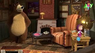 Маша и Медведь новые серии мультика про веселые игры