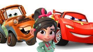 Игры для девочек Ванилопа #Мультики Гонки Тачки Машинки Дисней #Мультик игра Disney Cars