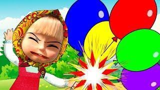 Что случилось с шариками Мультики для детей Большой сборник Cartoon for kids