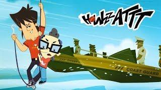 Kid Krrish Presents Howzzattt| Stuck In The Middle Of Ocean | Cricket Cartoons For Kids| kids videos