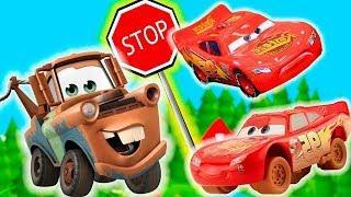Мультики про машинки Тачки - Развивающие мультики для детей с игрушками