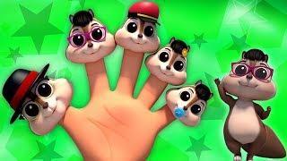 Белка палец семьи | русский мультфильмы для детей | Squirrel Finger Family | Farmees Russia