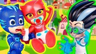 Мультик Герои в масках - Две Аллет! Мультфильмы с игрушками для детей Мультики про машинки