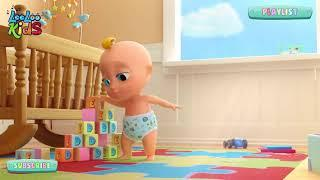 Джонни Джонни Да Папа - Игра для детей - Мультфильмы для детей - Детские детские песни  N 104