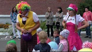 Аниматоры на детском празднике. Конкурсы и игры с мячом. Клоуны для детей.