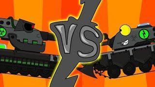 Вафля vs Хищник Мультики про танки
