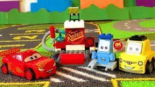 Лего Тачки 3 Молния Маквин Пит Стоп Мультики про Машинки Lego Cars 3 Lightning McQueen