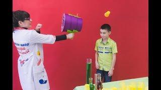 Аэробазука | Научное шоу профессора Стекляшкиной | День рождения в научном стиле | Курган