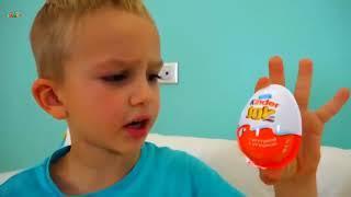 Глупые Дети Играют В Четыре Игрушки, Изучают Лучшие Песни Для Детей