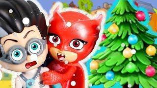 Мультики для детей - Пропала Елка! Игрушки Герои в масках мультфильмы для малышей