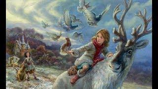 """""""Снежная королева"""" Веселые сказки для детей. Сказки народов мира. Рассказы с красочными картинками"""