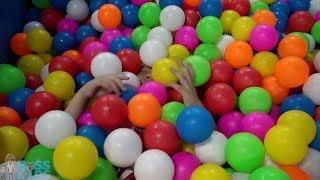 Детская игровая площадка ColorFul Ball Смешные детские детские песни Rhymes для детей