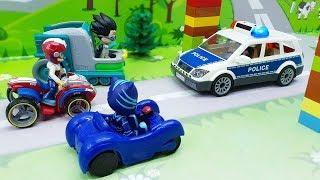 Мультики для детей.Мультик с игрушками про машинки -Победила дружба!Щенячий патруль - Герои в масках