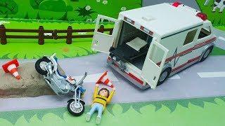 Мультики про Машинки. Плеймобил - Годы тренировок! Развивающие мультфильмы для детей